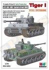 Rye Field Model 5003 Pz.kpfw.VI Ausf. E Tiger I Early Production (full interior)