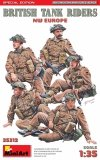 Miniart 35312 BRITISH TANK RIDERS. NW EUROPE. SPECIAL EDITION 1/35