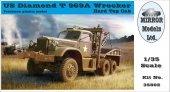Mirror Models 35802 US DIAMOND T 969 WRECKER HARD TOP (1:35)