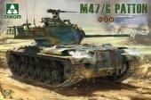 Takom 2070 US Medium Tank M47 (2 in 1) (1:35)