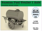 Mirror Models 35204 Russian Fuel Trailer Assembly Guide (1:35)