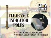 AFV Club AC35002 Clearance Indicator Poles 6szt