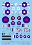 Techmod 72014 - Vought Corsair II (1:72)