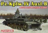 Dragon 6764 Pz.Kpfw.IV Ausf.B mit Schneeraumer System Schmidt (1:35)