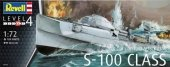 Revell 05162 German Fast Attack Craft S-100 Class (1/72)