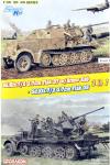 Dragon 6953 Sd.Kfz.7/2 3.7cm Flak37 w/Armored Cab x Sd.Kfz.7/2 3.7cm Flak36 (2in1) 1/35