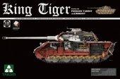 Takom 2046 King Tiger Sd.Kfz.182 PORSCHE TURRET w/ZIMMERIT /full interior 1/35