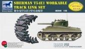 Bronco AB3546 Sherman T54E1 Workable Track Link Set 1/35