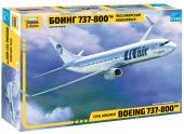 Zvezda 7019 Boeing 737-800 NG (1:144)