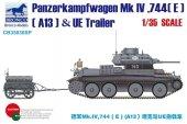 Bronco CB35030SP Panzerkampfwagen Mk IV (E) (A13) & UE Trailer