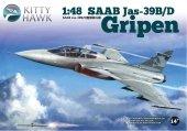 Kitty Hawk 80118 Jas-39B/D Gripen (1:48)
