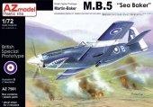 AZ Model AZ7561 MARTIN BAKER MB.5 SEA BAKER (1:72)
