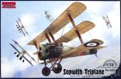 Roden 609 British IWW fighter Sopwith Triplane (1:32)