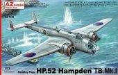 AZ Model AZ7555 HANDLEY PAGE HP.52 HAMPDEN TB MK.I (1:72)