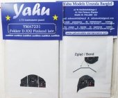 Yahu YMA7231 Fokker DXXI Finland late (MPM / Special Hobby) 1:72