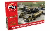 Airfix 12010 Eighth Air Force: Boeing B-17G Bomber Re-supply Set 1/72