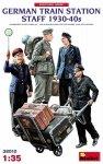 MiniArt 38010 German Train Station Staff 1930-40 1/35