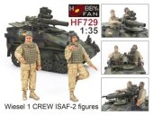 Hobby Fan HF729 Wiesel 1 CREW ISAF-2 figures