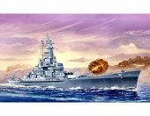 Trumpeter 05761 American Battleship USS Massachusetts (BB-59) 1:700