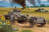 Hobby Boss 80146 Munitionsschlepper auf Panzerkampfwagen I Ausf A with Ammo Trailer 1/35