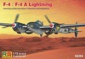 RS Models 92254 Lockheed F-4/F-4A Lightning American Reconnaissance 1/72