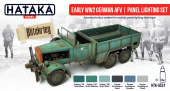 Hataka HTK-AS31 Early WW2 German AFV panel lighting set