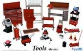 Fujimi 114392 Garage Tools remix 1/24