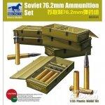Bronco AB3534 SOVIET 76,2mm AMMUNITION SET 1/35