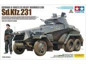 Tamiya 37024 German 6-Wheeled Heavy Armored Car Sd.Kfz.231 1/35