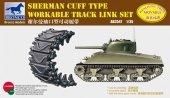 Bronco AB3547 Sherman T54E1 Workable Track Link Set 1/35