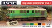 Hataka HTK-AS40 Polish Railways locomotives paint set vol. 1
