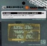 AFV Club TH35003 Modern UK Centurion Turret Mk.5/1 'Touch' (for AF35100) 1:35