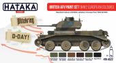 Hataka HTK-AS22 British AFV paint set (WW2 European colours)