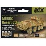 Vallejo 71212 US MERDC Desert Colors (6x17ml)