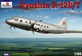 Amodel 01444 Ilyushin Il-12 D/T (1:144)