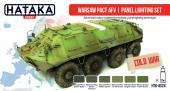 Hataka HTK-AS24 Warsaw Pact AFV panel lighting set
