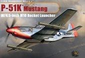 Dragon 3224 P-51K Mustang w/4.5 inch M10 Rocket Launcher (1:32)