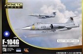 Kinetic K48077 F-104G ROCAF Starfighter 1/48