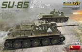 MiniArt 35204 SU-85 SOVIET SELF-PROPELLED GUN MOD.1944 EARLY PRODUCTION. INTERIOR KIT (1:35)