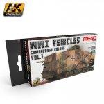AK Interactive MC-804 WWI Vehicles camouflage colors vol. 1