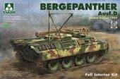 Takom 2102 Bergepanther Ausf. D Umbau Seibert 1945 1/35