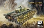 AFV Club 35259 Churchill AVRE with Snake Launcher (1:35)