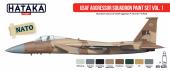 Hataka HTK-AS29 USAF Aggressor Squadron paint set vol. 1