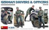 MiniArt 35345 German Drivers & Officers 1/35