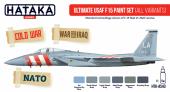 Hataka HTK-AS43 Ultimate USAF F-15 paint set (all variants)