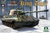 Takom 2073 King Tiger Sd.Kfz.182 HENSCHEL TURRET / Full Interior 1/35