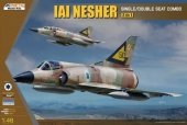 Kinetic K48056 IAI Nesher Single/Double Seat Combo (2in1) 1/48