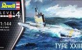 Revell 05140 German Submarine Type XXIII 1/144