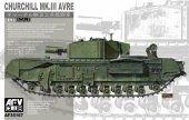 AFV Club 35167 Churchill Mk. III AVRE (1:35)