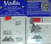 Yahu Models YMA3257 PZL P.11C for IBG Models 1/32